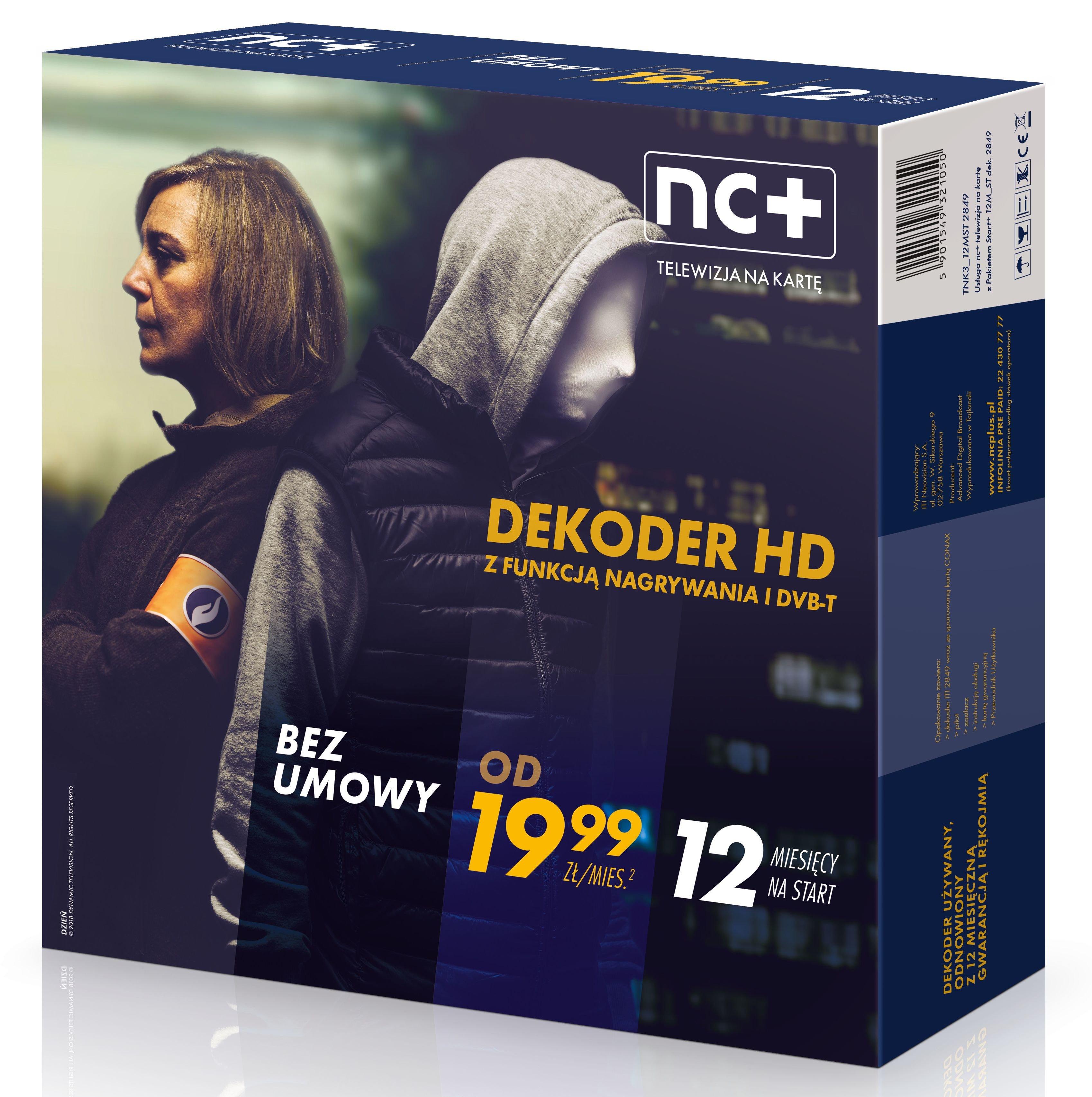 Dekoder Nc Na Karte.Dekoder Nc Iti 2850 Z Usługą Telewizja Na Kartę 12 M C Na Start Z Nc Sklep Internetowy Avans Pl