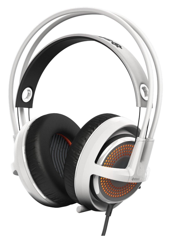Słuchawki STEELSERIES Siberia 350 (51204) Biały