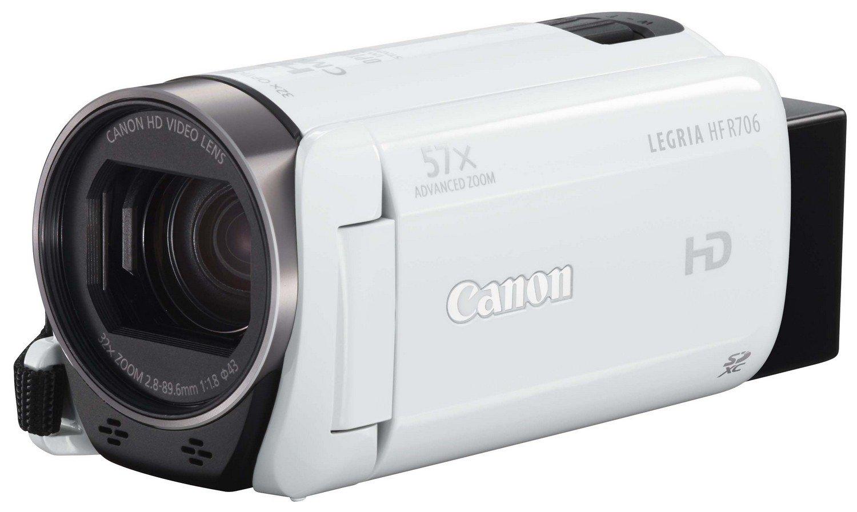 Obraz przedstawiający Kamera CANON HF-R706 Biały