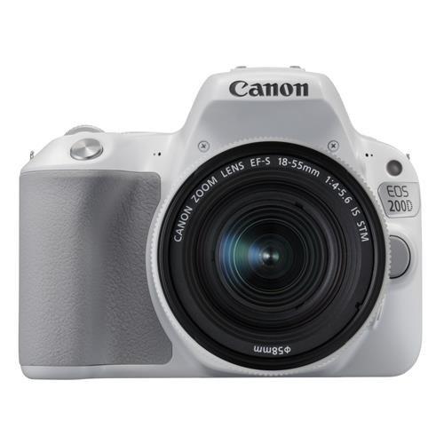 Obraz przedstawiający Aparat CANON EOS 200D + Obiektyw 18-55mm IS STM