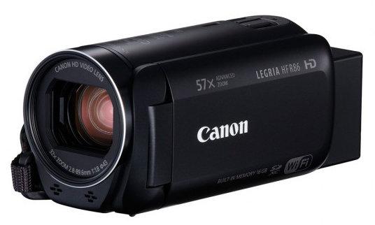 Obraz przedstawiający Kamera CANON Legria HF R86 Czarny