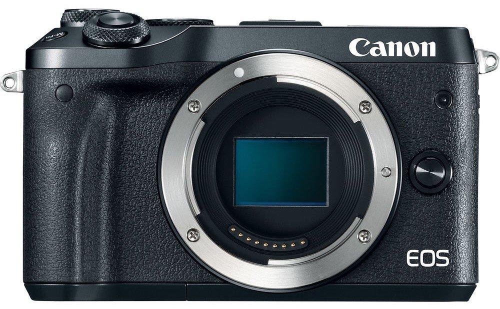 Obraz przedstawiający Aparat CANON Eos M6 Body Czarny
