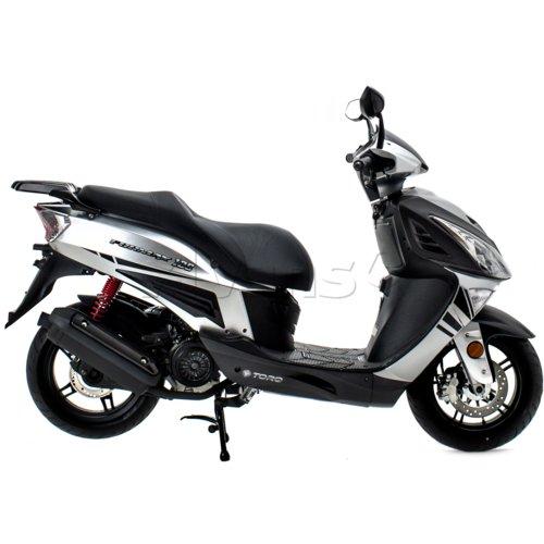 Motocykl TORQ Formax 125 Srebrny