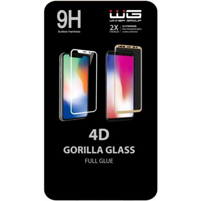 Szkło hartowane WINNER GROUP 4D Full Glue do Xiaomi Redmi Note 8 Czarny