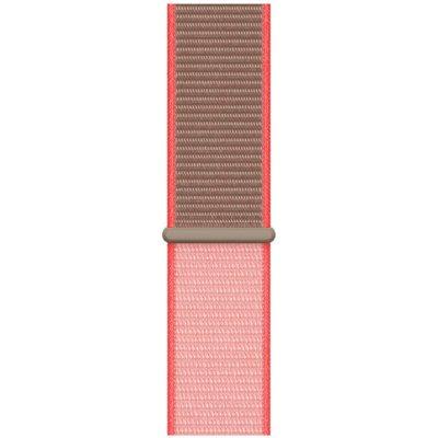 Pasek APPLE do Apple Watch (42/44 mm) Neonowy róż