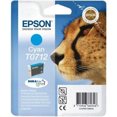Tusz EPSON T0712 (D78) Cyan