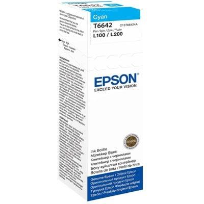 Tusz EPSON T6642 Błękitny