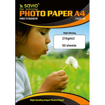 Papier fotograficzny SAVIO A4 PA-12
