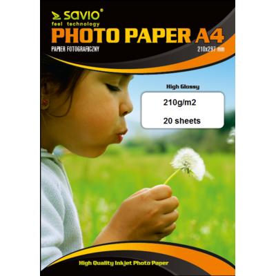 Papier fotograficzny SAVIO A4 PA-08