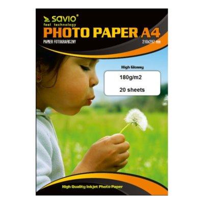Papier fotograficzny SAVIO A4 PA-07