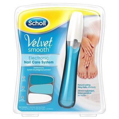 Zestaw do pielęgnacji paznokci SCHOLL Velvet Smooth