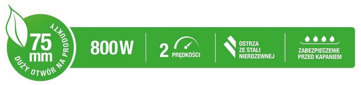 Sokowirówka GÖTZE & JENSEN JM501X – sklep internetowy Avans.pl
