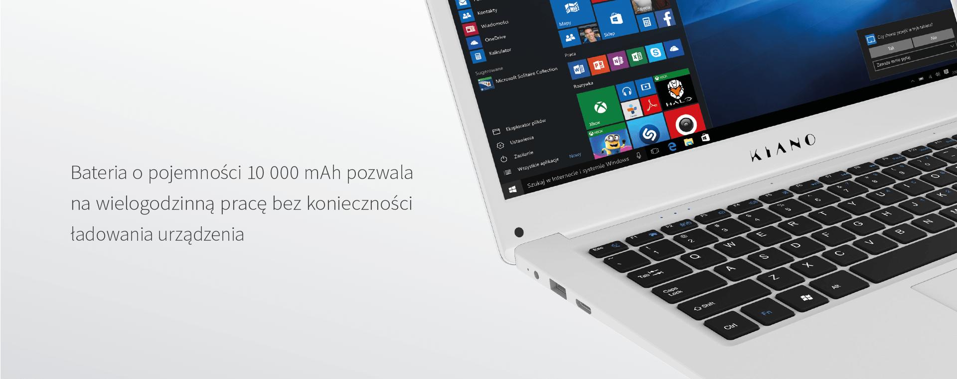 38f0350ae7cb3 Laptop KIANO Laptop KIANO SlimNote 14.2 Srebrny – sklep internetowy ...